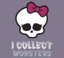 Monster Collector - Monster High Doll Shirt Dark Kids Tee