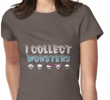 I Collect Monster High Dolls - Monster High T-Shirt Dark Womens Fitted T-Shirt