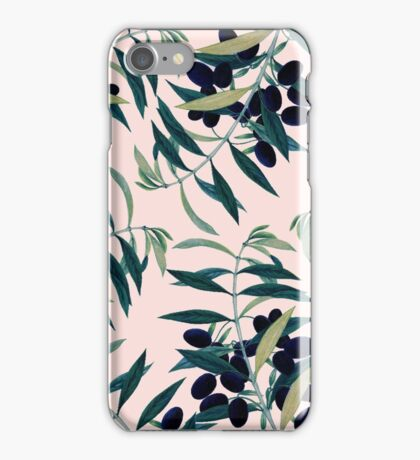 Olive Branch Pattern #redbubble  iPhone Case/Skin