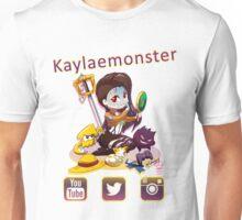 Kayla_social icons Unisex T-Shirt