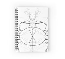 spider and fly Spiral Notebook
