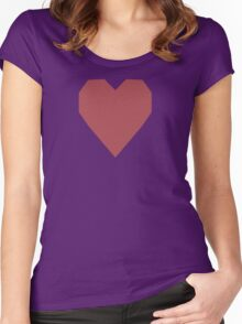 Rose Vale  Women's Fitted Scoop T-Shirt