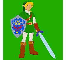 Ocarina of Time - Adult Link Photographic Print