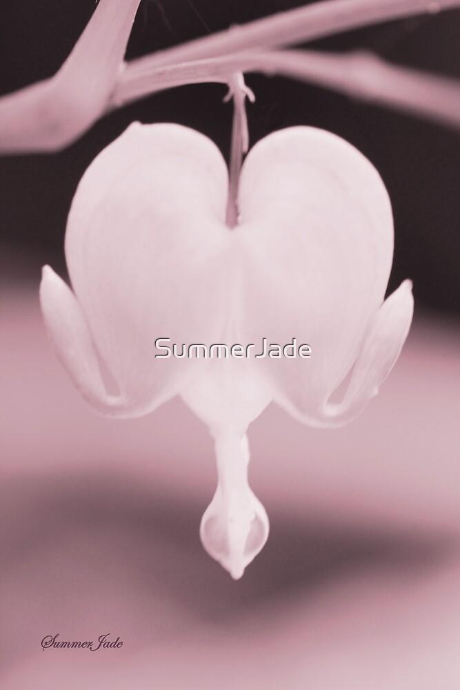 Bleeding Heart ~ a Garden Whimsy by SummerJade