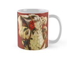 Traditional Toys: Teddy Bear Riding Rocking Horse Mug Mug