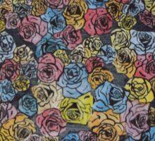 Watercolour Flowers Sticker