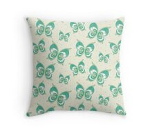Pearls in Butterfly Throw Pillow
