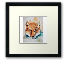 what did the fox say Framed Print