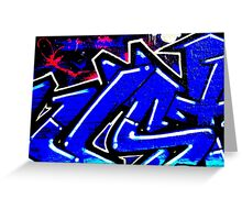 Graffiti 13 Greeting Card