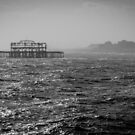 Brighton West Pier by Corbin Adler
