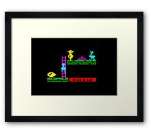 Cornered in Chuckie Framed Print