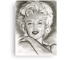Marilyn in black and white Metal Print