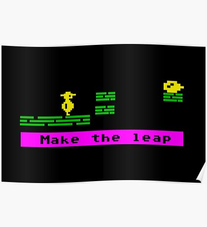 Make the Leap Poster