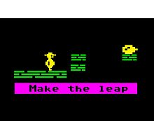 Make the Leap Photographic Print