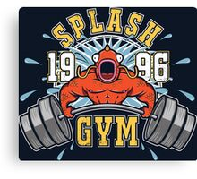 Splash Gym Canvas Print