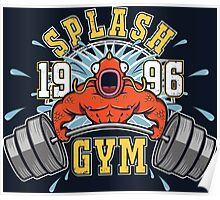 Splash Gym Poster