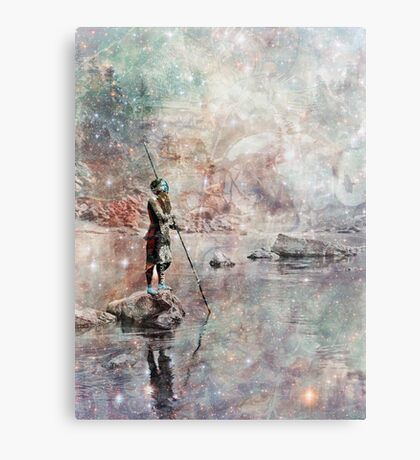 Hupa by River Canvas Print
