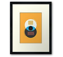 Biscuit Sandwiches Framed Print