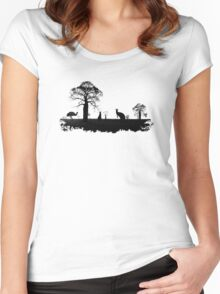Outback Australia Women's Fitted Scoop T-Shirt