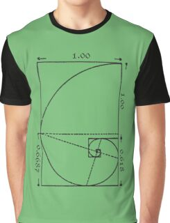 The Golden Spiral Graphic T-Shirt