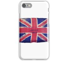 My Grandpa's Flag from WW1 1918 3rd Light Horse iPhone Case/Skin