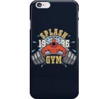Splash Gym iPhone Case/Skin