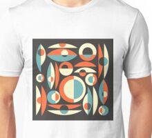 Retro Eames Era  Pisces Unisex T-Shirt
