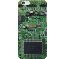 Circuit Board (old) iPhone Case/Skin
