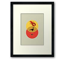 Pinchy and Stingy Framed Print