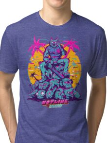 Hotline Miami Tri-blend T-Shirt