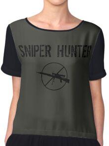 Sniper Hunter  Chiffon Top