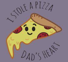 I'm Dad's Favourite Slice Kids Tee