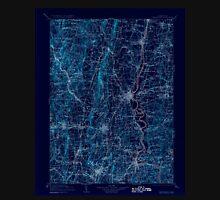 USGS TOPO Map Connecticut CT Farmington 331214 1906 125000 Inverted Unisex T-Shirt