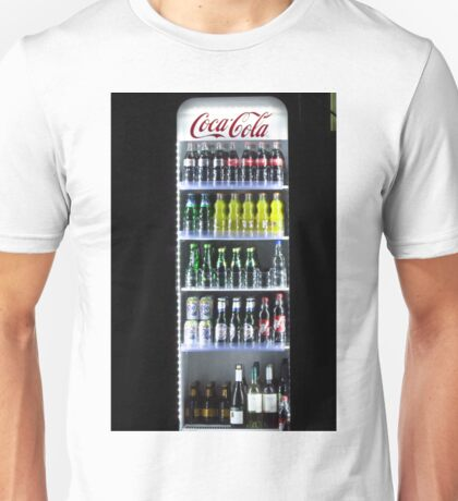 Soft Drinks Cabinet Unisex T-Shirt