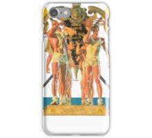 Rowing Poster , J. C. Leyendecker iPhone Case/Skin