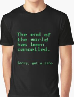 The End of The World Graphic T-Shirt
