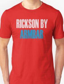 Rickson By Armbar (Brazilian Jiu Jitsu) T-Shirt