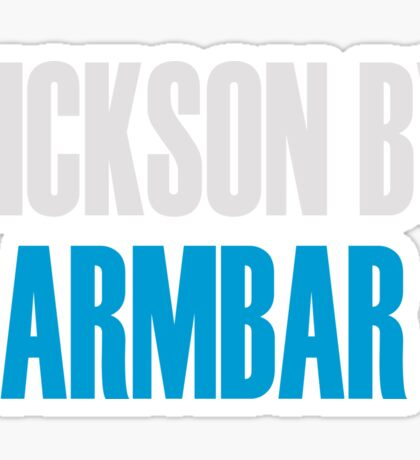 Rickson By Armbar (Brazilian Jiu Jitsu) Sticker