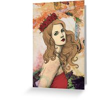 Automn Greeting Card