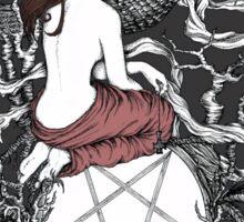 Satan Girl Sticker