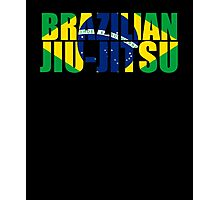 Brazilian Jiu Jitsu Flag (BJJ) Photographic Print