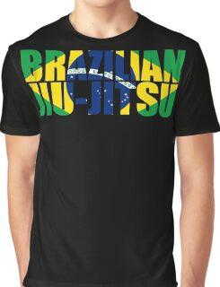 Brazilian Jiu Jitsu Flag (BJJ) Graphic T-Shirt