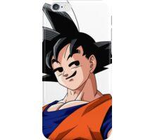 Goku Smirk iPhone Case/Skin