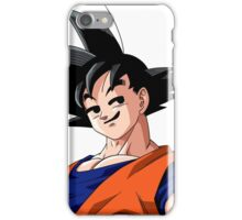 Goku Smirk iPhone Case/Skin