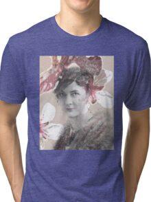 Flower Lady Tri-blend T-Shirt