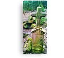 Place of legandary murder Canvas Print