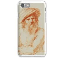 Royal-Guercino-Man-with-large-hat iPhone Case/Skin