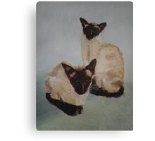 Charlie and Willow Canvas Print