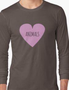 Animals <3 Long Sleeve T-Shirt
