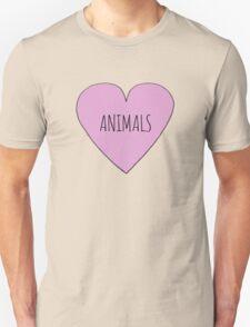 Animals <3 Unisex T-Shirt
